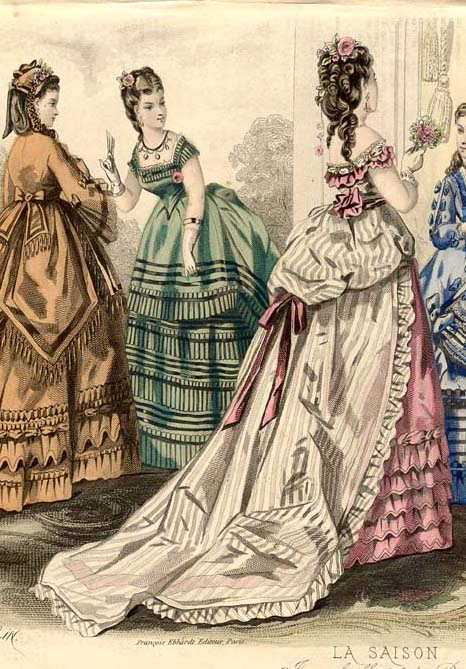 early 1870s fashion fashion before the 20th century