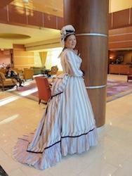 Gwendolen's Early 1870s Day Bodice & Bonnet