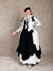 1775 Maja Fancy Dress Costume