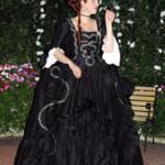 1760s Mourning Robe à la Française