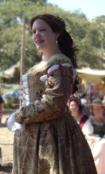 1560s Venetian Courtesan Gown & Corset