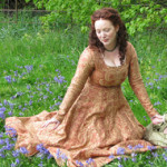 Gothic Fitted/Pre-Raphaelite Dress