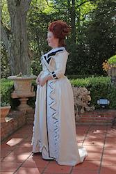 1780 Marie Antoinette Redingote