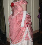 1875 Candy Cane Afternoon & Evening Dress