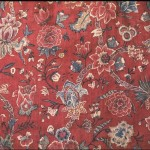 1750-75 banyan, painted & dyed, India (fabric). Designed for European market.