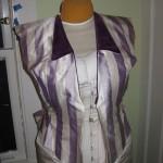 Attaching the velvet collar