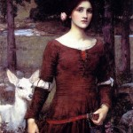 Lady Clare by Waterhouse