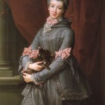 Batoni, 1767.  Lady Mary Fox. Brunswick. Wikimedia Commons