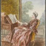 Mme d'Epinay by Carmontelle, 1750s or 1760s?  Jesuit? Musée Condé