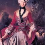 """Pesne, """"Sophie Marie Grafin Voss,"""" 1746"""