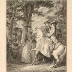 """""""Rencontre dans le Bois de Bolougne,"""" 1776"""
