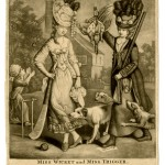 "Collett, ""Miss Wicket and Miss Trigger,"" 1778"