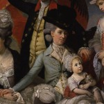 "Zoffany, detail from ""The Sharp Family,"" 1779-81"