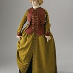 1780s habit at LACMA (made of silk faille!)