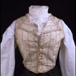 1790s habit waistcoat at the V&A