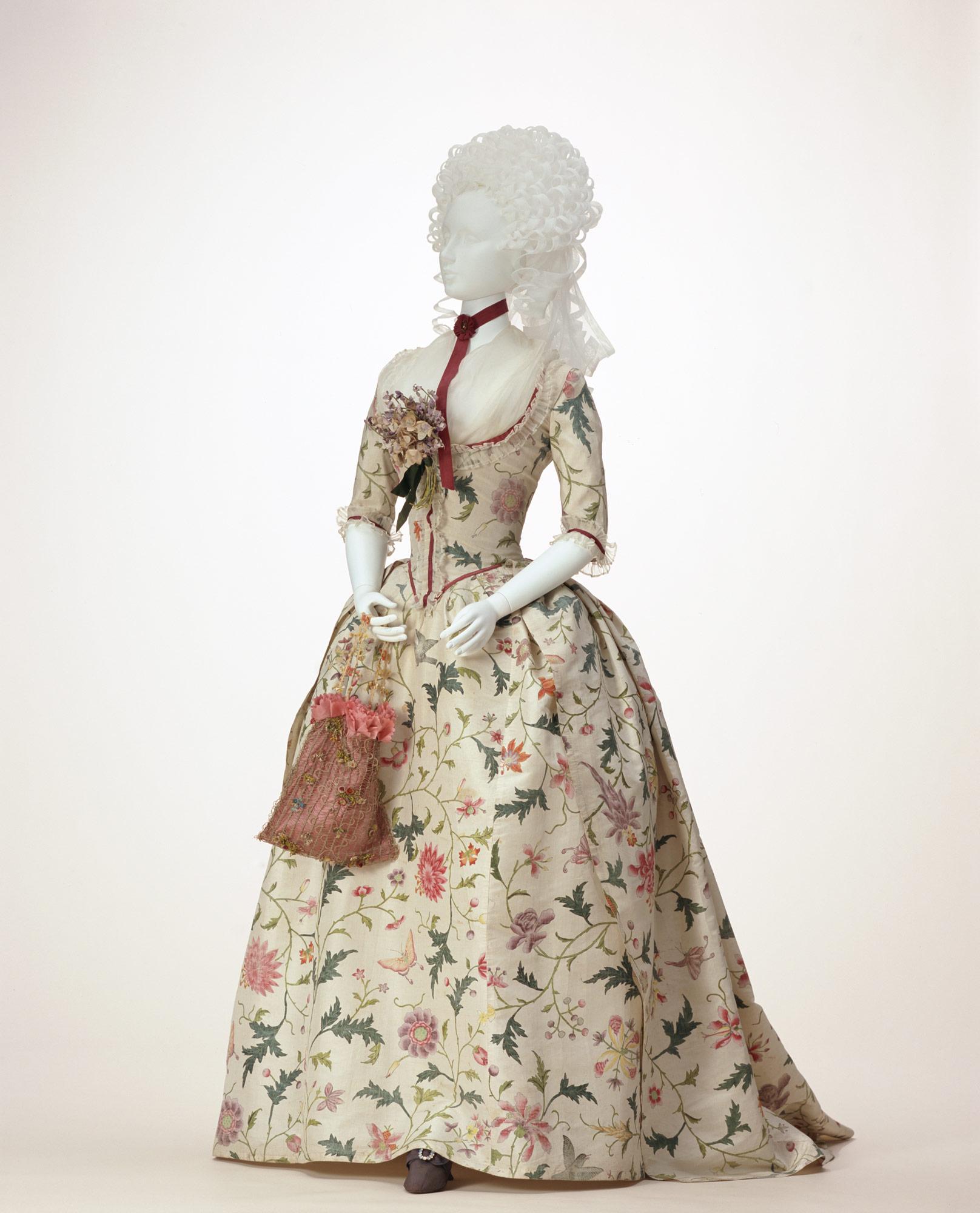 1787ish Round Gown – Démodé
