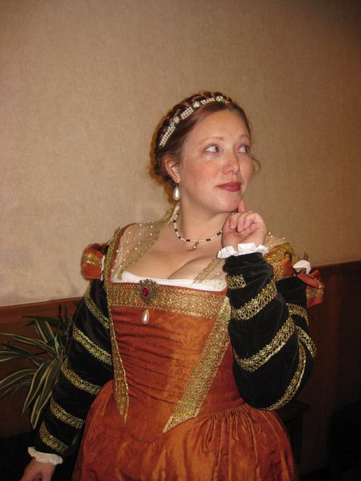 1540s Florentine Gown D 233 Mod 233