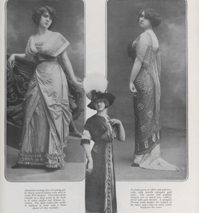 Dressing for Dinner on the Titanic: Early 1910s Evening Dress – Démodé