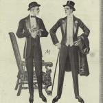 1912 black tie white tie