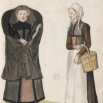 Flemish gentlewoman and Dutch woman