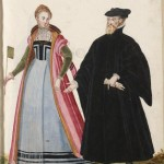Genoan lady and nobleman