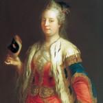 Queen Maria Theresa by van Meytens, 1744 via Gogmsite.net