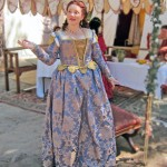 In May, I made a new Venetian Renaissance dress to wear to Bella Donna performances.
