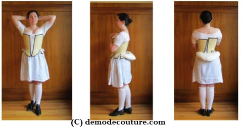 a5ef50cbd Late 18th Century Skirt Supports  Bums