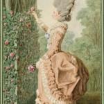 """Louis Carrogis, called Carmontelle, """"Madame la comtesse de Vauban,"""" 1776. Réunion des musées nationaux et du Grand Palais des Champs-Elysées."""