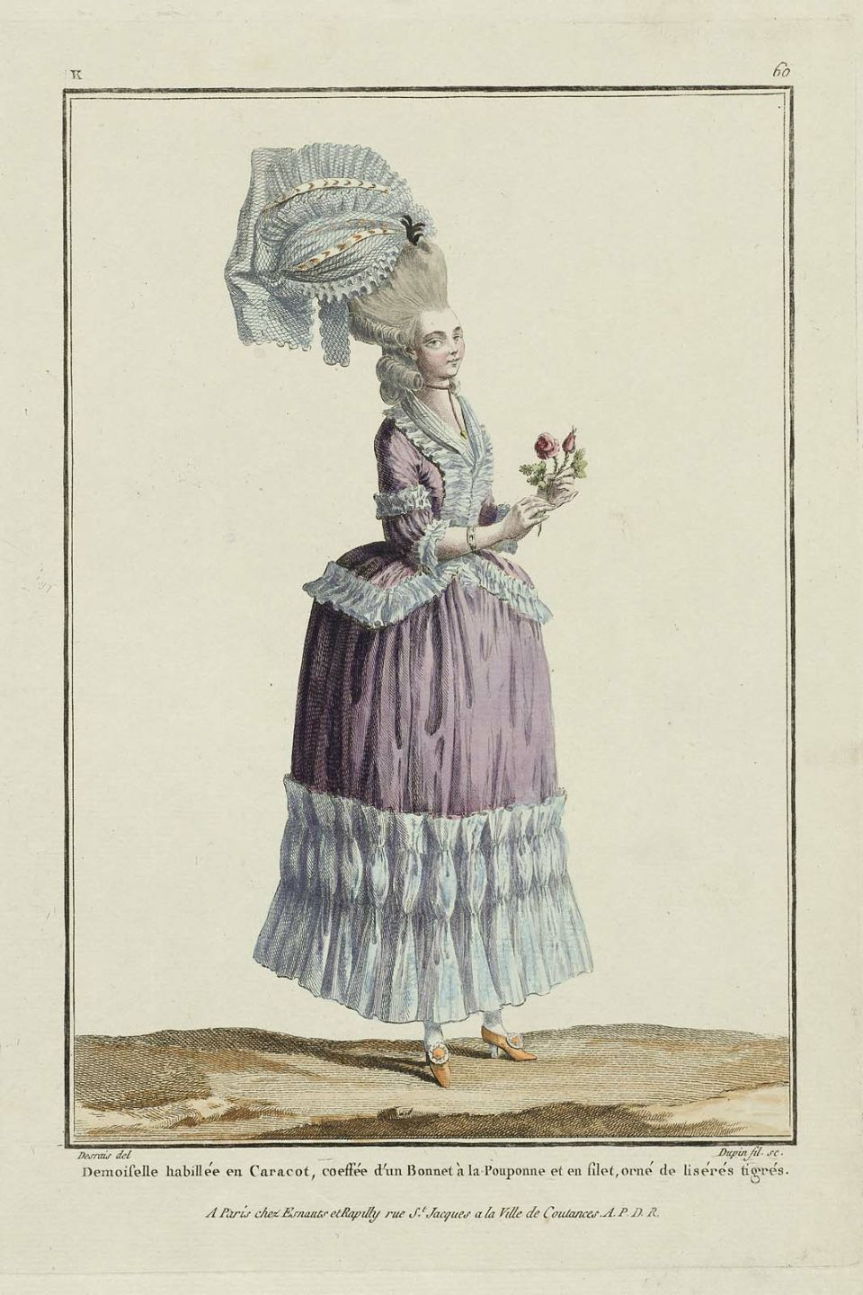 Late 18th Century Skirt Supports: Bums, Rumps, & Culs – Démodé