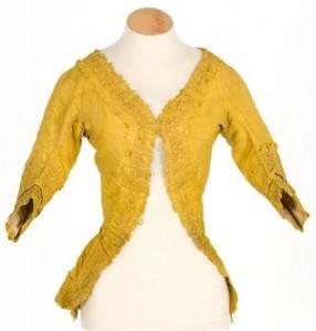 Caraco or Camisole à la Polonaise -- Casaca, 1760-1770; Centre de Documentacio i Museu Textil; Terrassa, Spain; 11732:  http://imatex.cdmt.es/