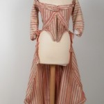 Robe à la Polonaise -- Polonaise dress, fabric. ca. 1770-3; Killerton/The National Trust, Broadclyst, United Kingdom; Kil W 04253: http://www.nationaltrust collections.org.uk/