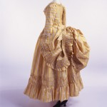 Robe à la Polonaise -- Dress (Robe a la Polonaise), ca. 1780; Kyoto Costume Institute, Kyoto, Japan; AC7620 92-34-1AB:  http://www.kci.or.jp/ archives/digital_archives/