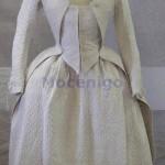 Caraco à la Polonaise -- Sopraveste Femminile, 1775-9; Museo di Palazzo Mocenigo, Venice; CI. XXIV n. 0239: http://www.archiviodella comunicazione.it/Sicap/ opac.aspx?WEB=MuseiVE