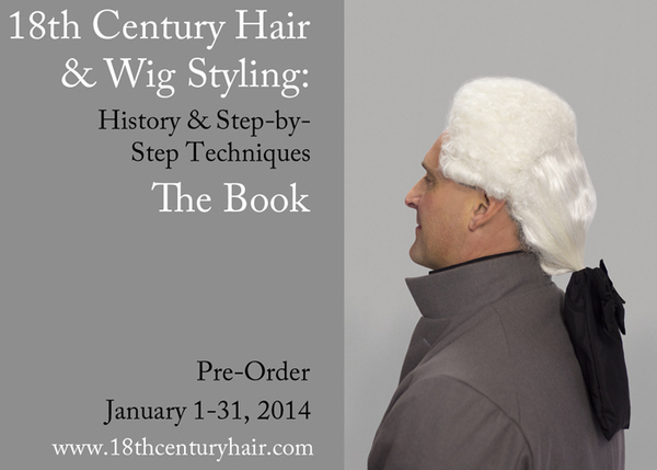 18th C Hair Wig Styling Book Boys Demode