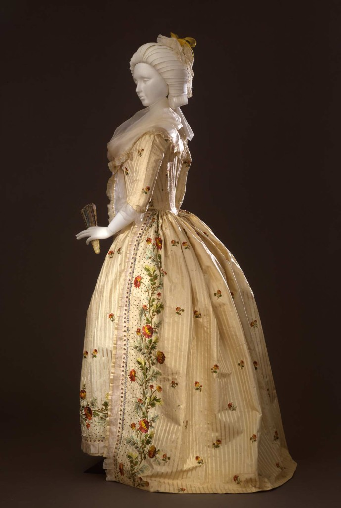 """1780  Abito femminile modello """"robe a l'anglaise"""""""