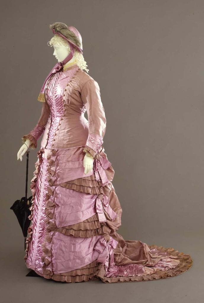 1878-80  Abito femminile da passeggio in due pezzi