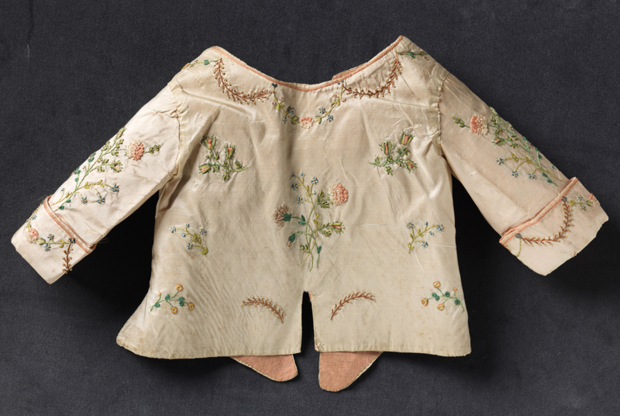 Th century ribbon embroidery démodé