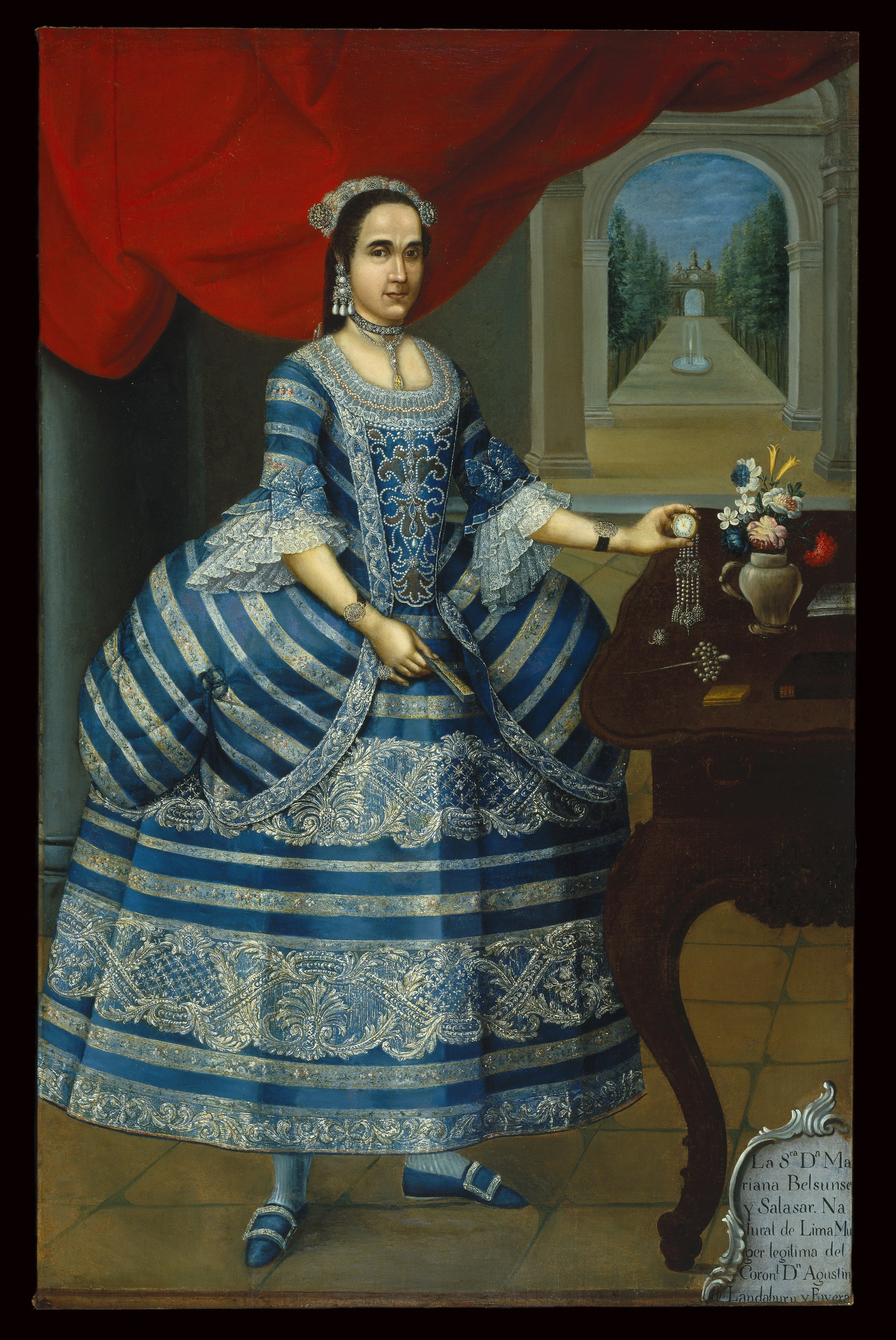 18th Century Mexican Dress In Casta Paintings