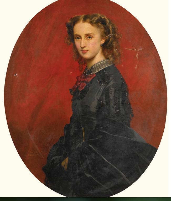 Franz Xaver Winterhalter | WANDA FÜRSTIN VON UND ZU PUTBUS (1837-1867), NÉE FREIIN VON VELTHEIM-BARTENSLEBEN | Sotheby's