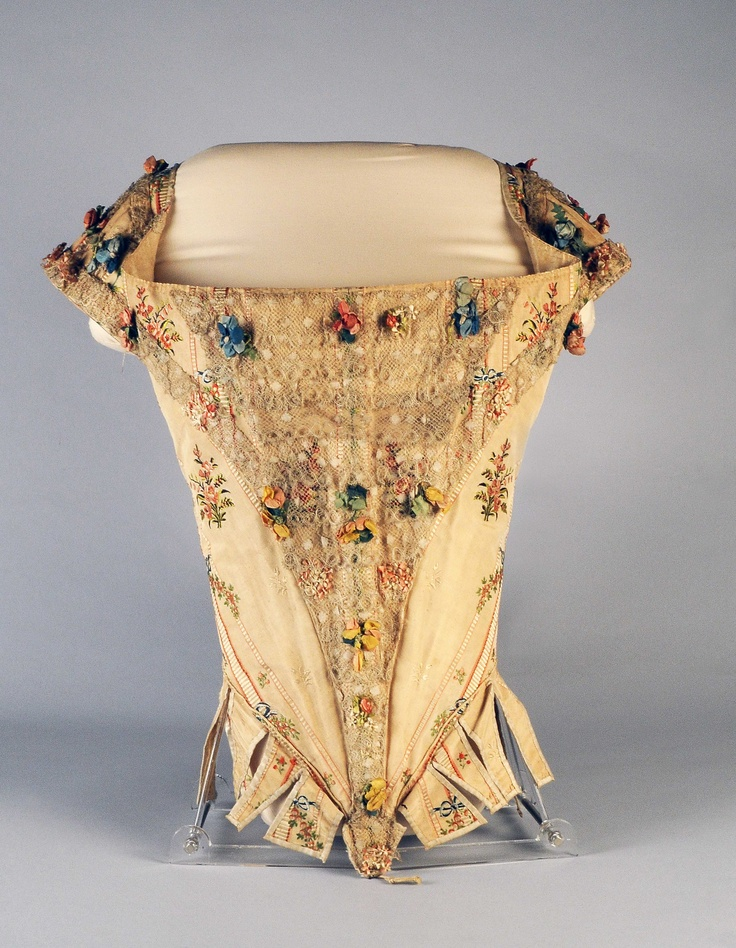 Court bodice, 1770-1780, from the Palazzo Madama