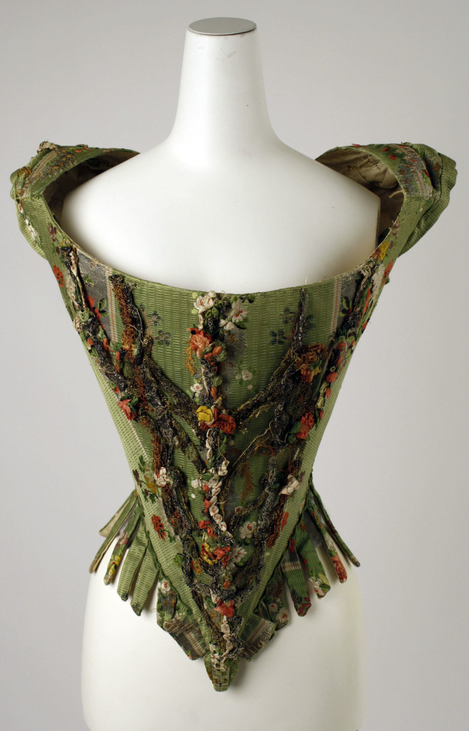 Bodice Date: 18th century Culture: European Metropolitan Museum of Art