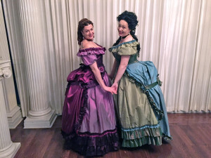 Cinderella's Ugly Step-Sisters -- 1870S Historically Accurate Edition