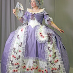 1787ish French Robe de Cour