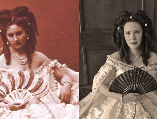 Countess of Castiglione costume reproduction