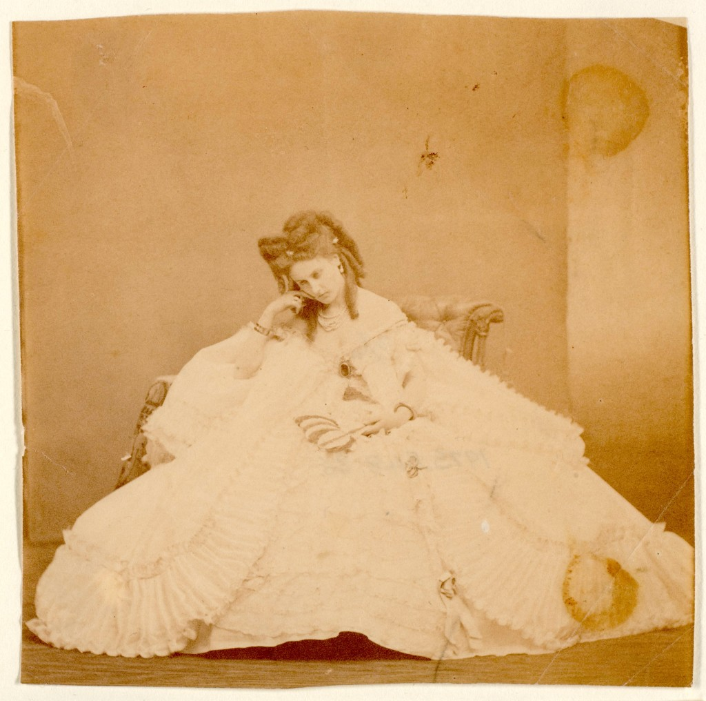 La peignoir plisié by Pierre-Louis Pierson, 1860s, Metropolitan Museum of Art