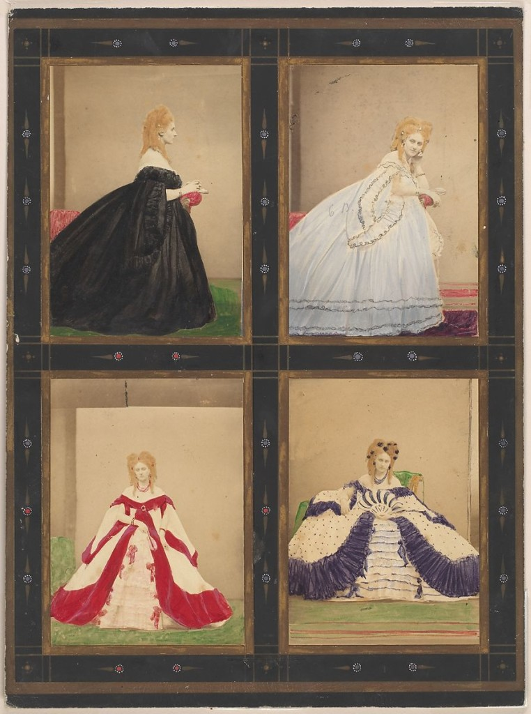 "[Variations on the ""Elvira"" Dress] by Pierre-Louis Pierson, 1861–67, Metropolitan Museum of Art"
